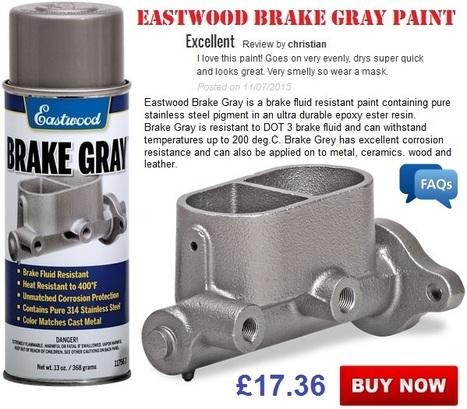 Eastwood Brake Gray Paint | Auto Restoration | Scoop.it