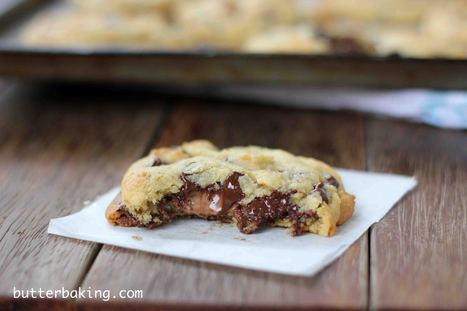 Soft Batch Chocolate Chip Cookies | Butter Baking | All Things Cookie Baking | Scoop.it