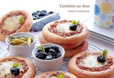 Tartelettes au thon avec pate a pizza   cuisine algerienne et recettes de ramadan   Scoop.it