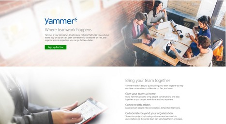 Yammer Private Social Networking | Office 365 | Microsoft | JOIN SCOOP.IT AND FOLLOW ME ON SCOOP.IT | Scoop.it