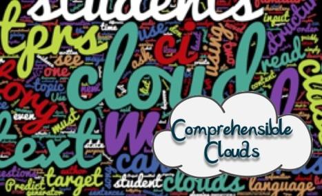 Comprehensible Clouds   Todoele - Enseñanza y aprendizaje del español   Scoop.it