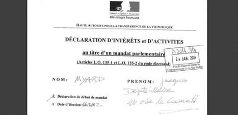 Les déclarations d'intérêts des élus bientôt en Open Data | Veille Open Data France | Scoop.it