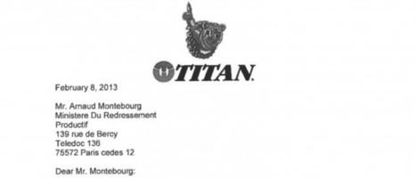 La lettre du PDG de Titan à Montebourg concernant Goodyear | Music, Medias, Comm. Management | Scoop.it