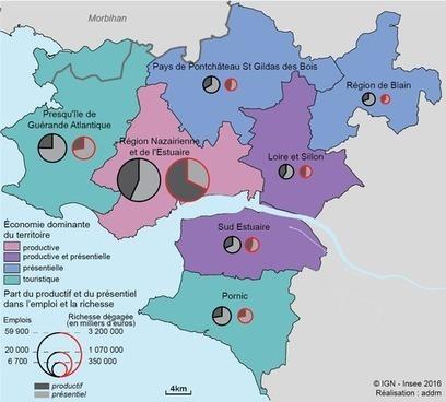 Insee > À l'ouest de la Loire-Atlantique: richesse productive et économie présentielle   Observer les Pays de la Loire   Scoop.it