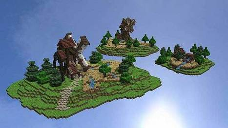 Medieval Town Map for Minecraft | Free Download Minecraft | Scoop.it