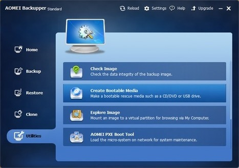 Πλήρες Windows Backup Image με το AOMEI Backupper | Computer4all-of-you | Scoop.it