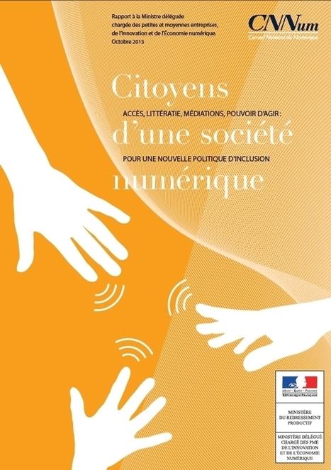 Citoyens  d'une société  numérique ACCÈS, LITTÉRA... | Numéri'veille | Scoop.it
