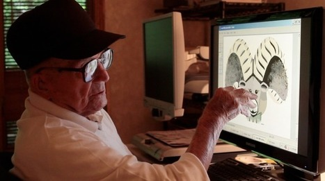 This 98-Year-Old Man Spent 13 Years Creating Remarkable Art in MS Paint   Archivance - Miscellanées   Scoop.it