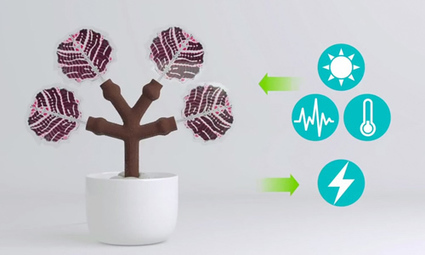 Charge Your Smart Phone With 3D-Printed Solar Tree » EcoWatch | sustainablity | Scoop.it