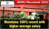 JBIMS Placement 2016: Maintains 100% record with higher average salary; gets 42% offers from BFSI | All About MBA | Scoop.it