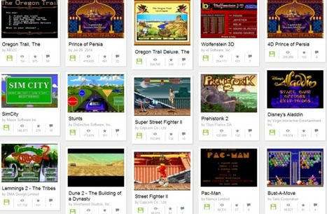 You can now embed and play MS-DOS games directly in atweet | Websites I Found So You Don't Need To | Scoop.it