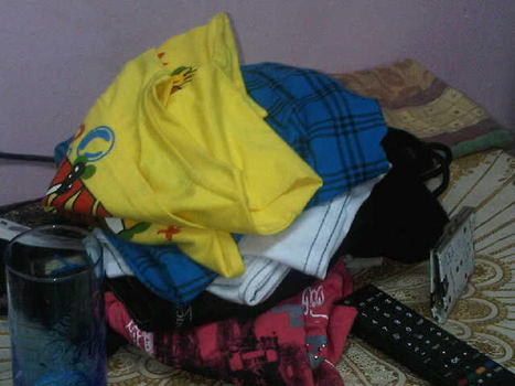 Martyr Ali Jawad Al Shaikh's Eid clothes.......still in his room..... | Human Rights and the Will to be free | Scoop.it