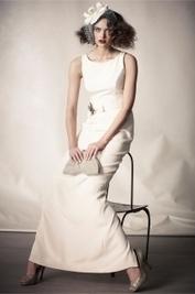 Sheath Wedding Dresses - theLuckyBridal.com   Little White Bridesmaid Dresses 2014   Scoop.it