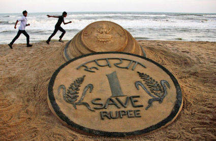 Rupee closes in on 69 vs dollar, its biggest day fall in 18 years - The Times of India   General Topics   Scoop.it