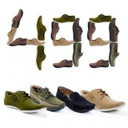 Shoes at Flat Price Rs.499 @Yepme.com | Save Money in India | Scoop.it