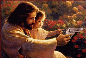 What Would Jesus Shoot? Kentucky Baptists giving away 25 guns to attract converts | Why Conservatives Love Guns So Very, Very, VERY Much? | Scoop.it