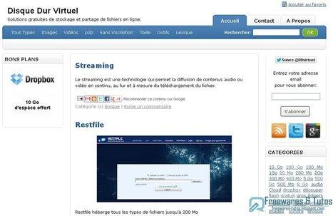 Disque Dur Virtuel : liste des solutions de stockage et de partage de fichiers en ligne | Time to Learn | Scoop.it