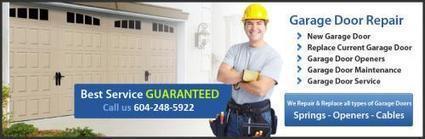 Beware of these 5 Garage Doors Danger Signs | Garage Door Repair Installation | Scoop.it