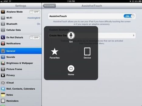 Use Your iPad or iPhone Without Hardware Buttons Via Assisted Touch [iOS Tips]   Macwidgets..some mac news clips   Scoop.it