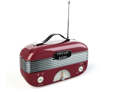 Recepteur radio vintage 3D | 3D Library | Scoop.it