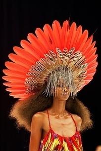 Color - Orange, Coral, Red Orange, Tangerine | Womens' Hats | Scoop.it