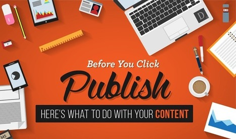 Before You Publish, 10 Things to Do With Your Blog Content | Content Creation, Curation, Management | Scoop.it
