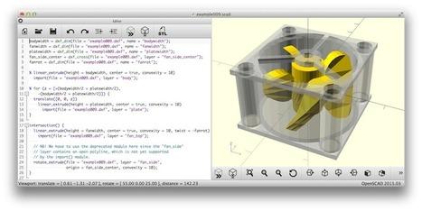 L'impression 3D: les logiciels (1) | Cyber ferme | Scoop.it
