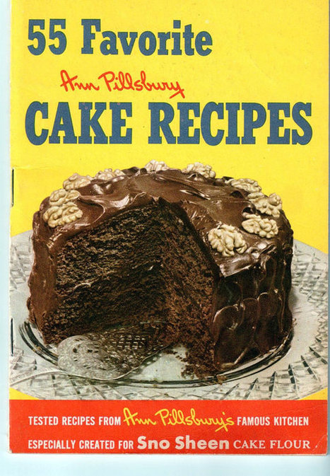 First Edition Ann Pillsbury 55 Favorite Cake by PaperOfYesterday | Antiques & Vintage Collectibles | Scoop.it