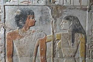 Pyramid Age love story comes to life in Egyptian tomb's vivid color - NBC News.com | Ancient world | Scoop.it