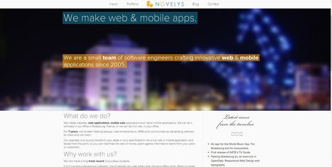 Novelys - We make web & mobile apps.   La Plage Digitale, the place to be - Coworking   Scoop.it