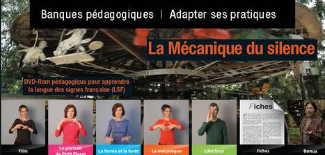 La mécanique du silence - apprendre la langue des signes française (LSF) @reseau_canope   Ressources Ecole   Scoop.it