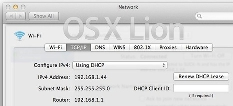 WiFi Dropping in OS X Lion? Here are Some Wireless Troubleshooting Solutions | Techy Stuff | Scoop.it