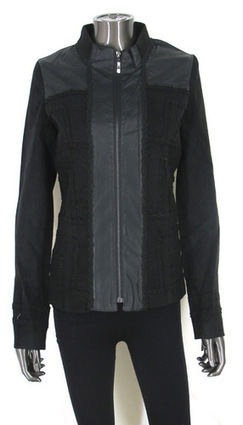 Really nice jacket with beautiful detailing on front, back, sleeve! Also has zipper on wrist! | Women's Clothing at Bvira.com | Scoop.it