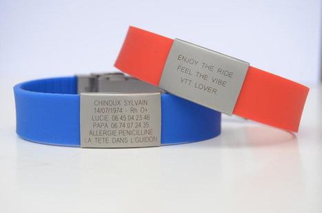 Devenez identifiable grâce au bracelet Data Vitae | LerunnerGeek.fr | Scoop.it