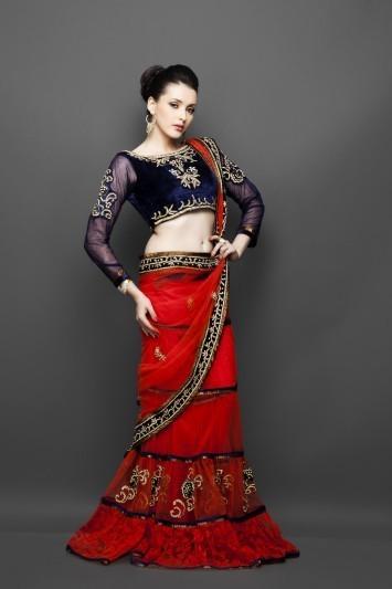Designer Net Sarees Online From Indi | indian wedding dresses | Scoop.it