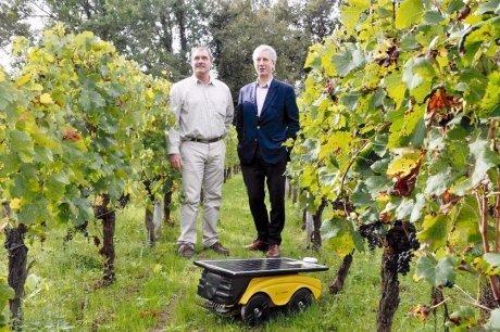 Le robot qui remplace les désherbants chimiques | Agriculture en Gironde | Scoop.it