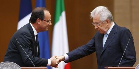Hollande et Monti se concertent, avant le calendrier chargé de la zone euro | Union Européenne, une construction dans la tourmente | Scoop.it