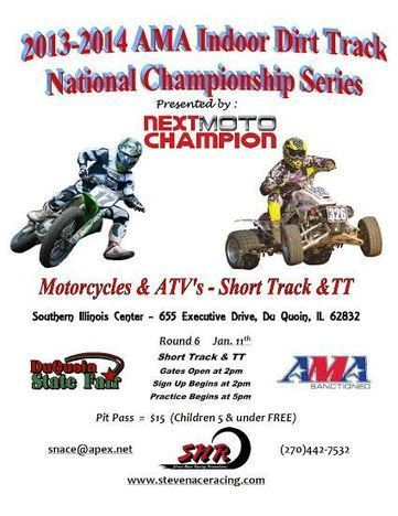 2013- 2014 AMA Indoor Dirt Track Series Race January 11th Presented by Next Moto Champion | California Flat Track Association (CFTA) | Scoop.it