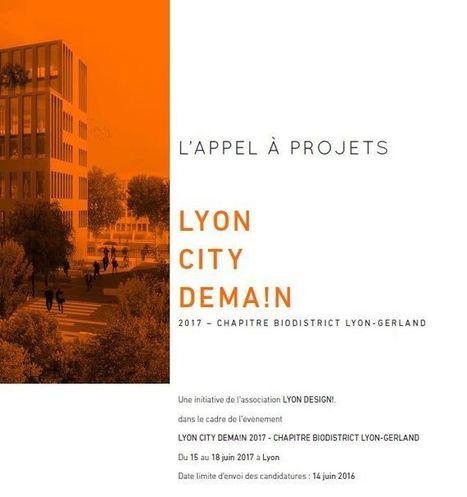 Appel à projets - Lyon City Design | L'actu design par la Cité du design | Scoop.it
