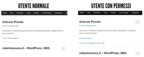 Area riservata in WordPress, come crearla grazie a due plugin | Wordpress Themes&Plugin | Web Me Do | Scoop.it