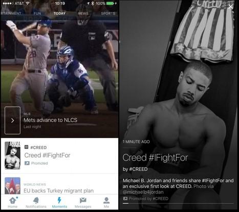 Twitter ora sperimenta i Promoted Moments | InTime - Social Media Magazine | Scoop.it