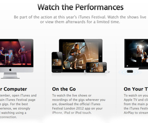 Apple to stream iTunes Festival 2012 concerts through the web, iOS devices, and Apple TVs | MUSIC:ENTER | Scoop.it