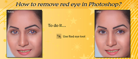 Removing Red Eye in Photoshop | Photo Editing and  Retouching | Scoop.it