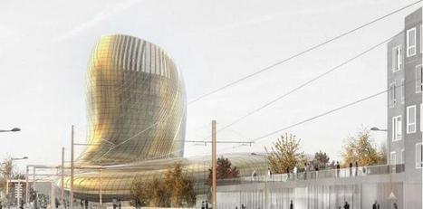 Le futur centre culturel du vin de Bordeaux prend de la bouteille | Architecture et Ingénierie bois | Scoop.it