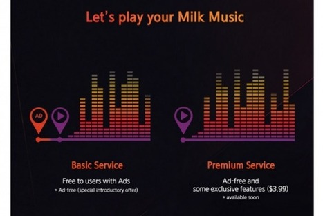 Samsung's Milk Music Service Will Soon Include Ads | Music Industry News | Scoop.it
