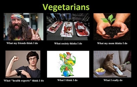 Vegetarians | What I really do | Scoop.it
