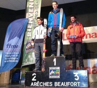 Esquí Montaña: Kilian Jornet segundo en campeonato de Francia de ski montaña 2013. 1º William Bon Mardion 1ª Letitia Roux   Freestyle skking   Scoop.it