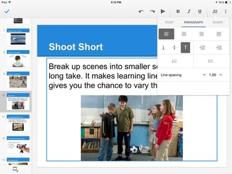 Google Slides for iPad | 21st Century Techie Tools | Scoop.it