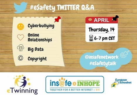 eSafety Twitter Q&A #eSafetytalk | Be  e-Safe | Scoop.it