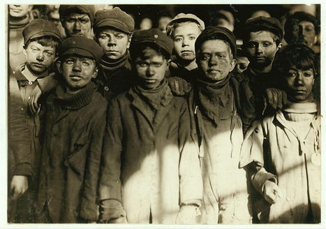 Helping to End Oppressive Child Labor in the US – The Photography of Lewis Hine | Progressive reform in the 1900's | Scoop.it